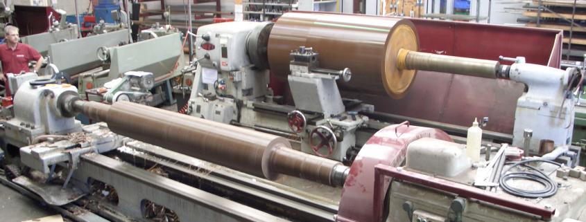 Polyurethane roll coverings